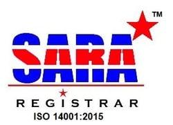 14001-2015 SARA logo