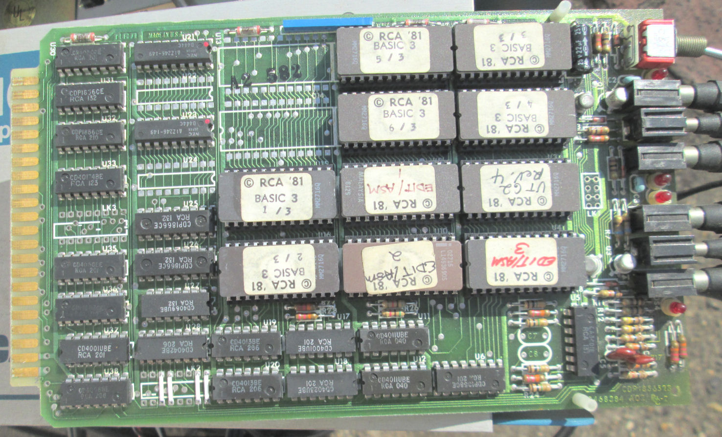 Matric Purchases RCA Micro Board Line